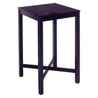 Dining Table Home Styles Bar Table   Black