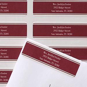 Personalized Business Return Address Labels