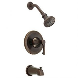 Danze Antioch Trim Only Single Handle Tub & Shower Faucet   Tumbled Bronzel