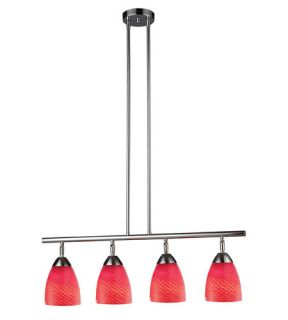 Celina 4 Light Island Lights in Polished Chrome 10153/4PC SC