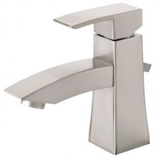 Danze Logan Square Single Handle Lavatory Faucet   Brushed Nickel