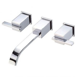 Danze® Sirius™ Two Handle Wall Mount Lavatory Faucet Trim Kit   Chrome
