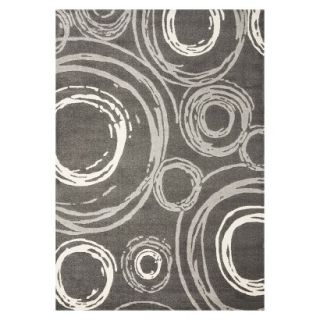 Safavieh Circles Area Rug   Dark Gray (53x77)