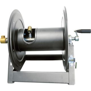 General Pump Heavy Duty Hose Reel with Swivel   5000 PSI, 300ft. Capacity,
