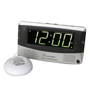 Sonic Alert Dual Digital Alarm Clock with Bed Shaker SA SBD375SS