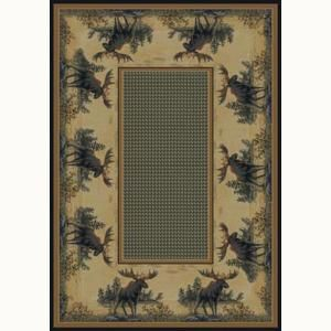United Weavers Northwood 7 ft. 10 in. x 10 ft. 6 in. Contemporary Lodge Area Rug 132 40417 811