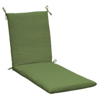 Hampton Bay Spectrum Cilantro Outdoor Chaise Lounge Cushion LC02152X 9D1