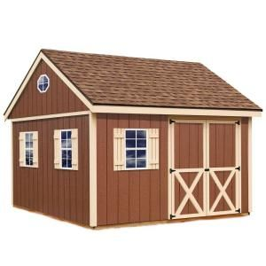 Best Barns Mansfield 12 ft. x 12 ft. Wood Storage Shed Kit mansfield_1212