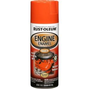Rust Oleum Automotive 12 oz. Engine Enamel Gloss Chevy Orange Spray Paint (6 Pack) 248941