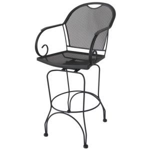 Hampton Bay Vera Patio Bar Stool (2 Pack) HD14608