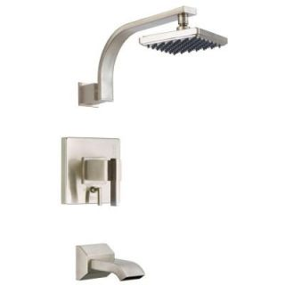 Danze Sirius Single Handle Tub and Shower Faucet Trim Only in Brushed Nickel (Valve not included) DISCONTINUED D500044BNT