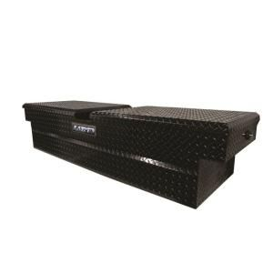 Lund 67 in. Cross Bed Truck Tool Box LALG567BK