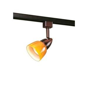 Hampton Bay 1 Light Oil Rubbed Bronze Linear Track Lighting Fixture EC2280OBRA