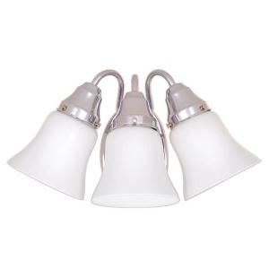 Hampton Bay 3 Light Chrome Bath Light 05273