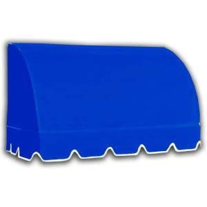 AWNTECH 40 ft. Savannah Window/Entry Awning (44 in. H x 36 in. D) in Bright Blue CS33 40BB