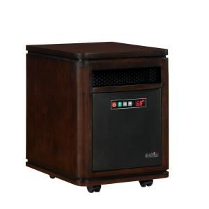 Duraflame Dartmouth 1500 Watt Electric Infrared Quartz Heater   Roasted Walnut 10HM4128 W504