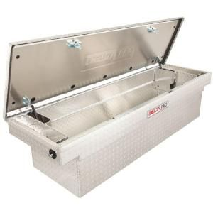 Delta Pro 71 in. Aluminum Single Lid Deep Full Size Crossover Tool Box in Bright PAC1582000