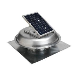 Master Flow 10 Watt Solar Powered Roof Mount Exhaust Fan PRSOLAR