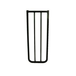 Cardinal Gates 10 1/2 in. Extension for Stairway Special or Auto Lock Gate in Black BX1 BKP