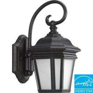 Progress Lighting Crawford Collection Textured Black 1 light Wall Lantern  DISCONTINUED P5685 31STR