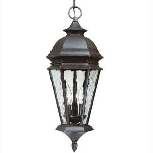 Hampton Bay Georgetown Collection Hanging Outdoor Lantern CIL1703M
