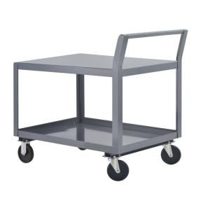 Edsal 24 in. W All Purpose Heavy Duty Welded Truck and Utility Cart TW9503