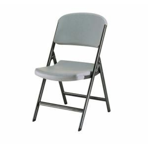 Lifetime Classic Commercial Putty Folding Chair (4 Pack) 80186