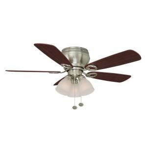 Hampton Bay Whitlock 44 in. Brushed Nickel Ceiling Fan 51644