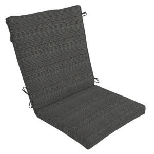 Hampton Bay Bentley Texture Outdoor Dining Chair Cushion DISCONTINUED NB73271X 9D1