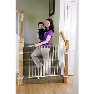 Regalo   Extra Tall Top of Stairs Metal Gate ?