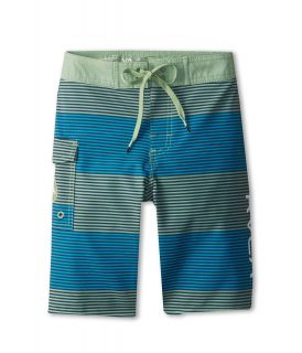 RVCA Kids Civil Trunk Boys Swimwear (Green)