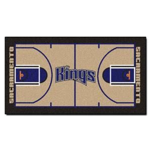 FANMATS Sacramento Kings 2 ft. x 3 ft. 8 in. NBA Court Runner 9504