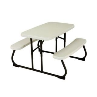 Lifetime 35 1/2 in. x 32 1/2 in. Kids Picnic Table with Benches 280094