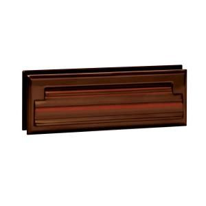 Salsbury Industries 4000 Series 8.75 in. W x 2.75 in. H x 1.75 in. D Standard Letter Size Mail Slot in Antique Finish 4035A