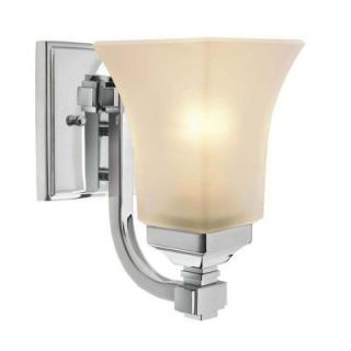 Hampton Bay 1 Light Chrome Wall Sconce 25121