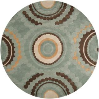 Artistic Weavers Meredith Seafoam Green 8 ft. Round Area Rug MERE 8919