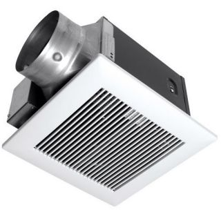 Panasonic Exhaust Fans WhisperGreen 130 CFM Energy Star Bathroom Fan Heating, Cooling, & Air Quality
