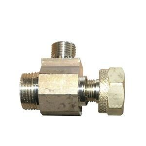 Watts 1/2 in. x 1/2 in. Brass Compression Adapt a Valve LFWAV 8C8C4