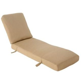 Hampton Bay Madison Replacement Outdoor Chaise Lounge Cushion 13H 001 CLG CSH
