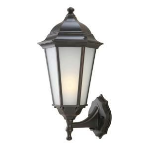 Hampton Bay Oil Rubbed Bronze Outdoor Wall Lantern DISCONTINUED GFB1611P 4
