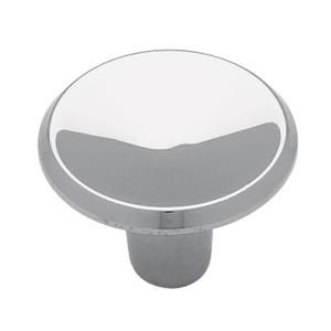 1 in. Polished Chrome Round Cabinet Knob P65010H CHR C