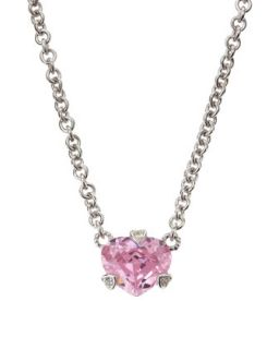 Heart Shape Crystal Necklace