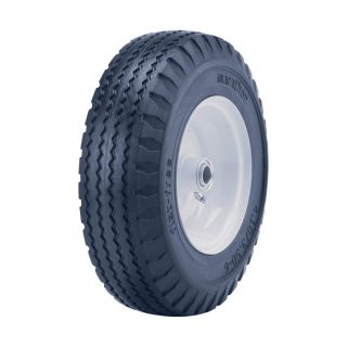 Marathon Tires Flat Free Hand Truck Tire   3/4 Inch Bore, 4.10/3.50 6 Inch