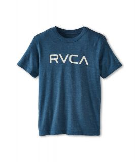 RVCA Kids Big RVCA S/S Tee Boys T Shirt (Blue)
