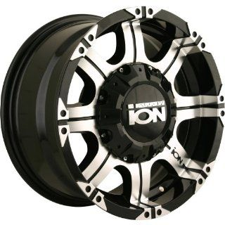 Alloy Ion Style 187 16 Black Wheel / Rim 5x4.5 & 5x5 with a 10mm Offset and a 87 Hub Bore. Partnumber 187 6856B Automotive