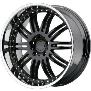 KMC KM127 20x8.5 Black Wheel / Rim 6x5.5 with a 10mm Offset and a 106.25 Hub Bore. Partnumber KM12728568510 Automotive