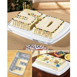 Alphabet Letter Number Custom Birthday Cake Baking Pan  Other Products