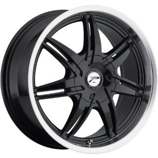 Platinum Mantis 15 Black Wheel / Rim 4x100 & 4x4.25 with a 42mm Offset and a 73 Hub Bore. Partnumber 204 5701B+42 Automotive