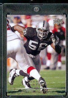 2008 Upper Deck #138???? Derrick Burgess   Oakland Raiders   NFL Trading Cards in a Protective Display Case at 's Sports Collectibles Store