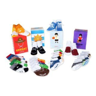 The Shoe Addict Trumpette Baby Gift Set for Boys (0 12 Months)  Infant And Toddler Socks  Baby